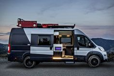Entirely modular and available in an array of configurations, the Fiat Ducato Camper Van is ready for your next adventure, no matter what your needs. This versatile vehicle comes in three different wheelbases, four lengths, and three heights, with eight...