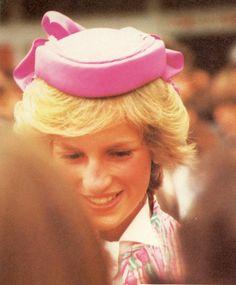 Princess Diana in New Zealand,  April 21, 1983 ??