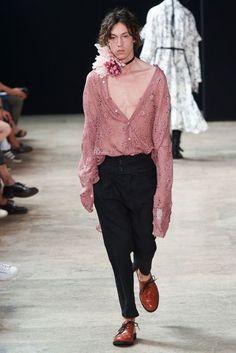 Ann Demeulemeester Spring/Summer 2018 Menswear   British Vogue