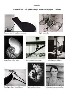 reading Elements and Principles - Photographic Examples on Scribd Photography Rules, Photography Sketchbook, History Of Photography, School Photography, Photography Lessons, Photography Projects, Artistic Photography, Photography Business, Creative Photography