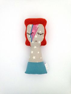 baby bowie / ziggy stardust by Guadalupecreations on Etsy