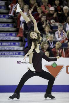 Maia Shibutani; reflections of Michelle Kwan; Skate Canada 2015