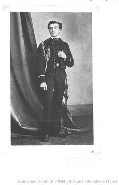 Julien Viaud, aka Pierre Loti. Probably 1870s