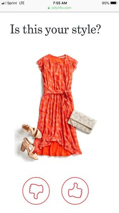 Beautiful dress and the color! Stitch Fix Dress, Stitch Fix Outfits, Pretty Outfits, Cool Outfits, Fashion Outfits, Stitch Fix Stylist, Work Casual, Spring Outfits, Style Inspiration