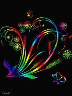 Your life is a canvas…. Make sure you paint yourself a whole lot of colorful…