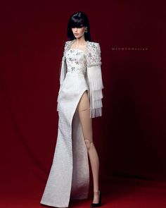Valley Of The Dolls, Barbie Collection, Fashion Dolls, Barbie Dolls, Photos, Mens Fashion, Formal Dresses, Instagram White, Outfits