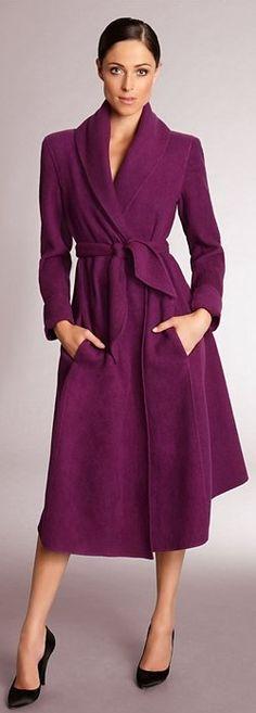 Donna Karan ~ Love the color, but it looks like a bathrobe.