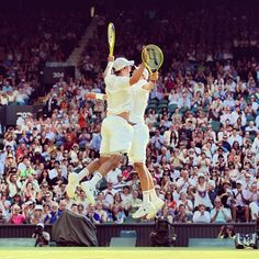 The Bryan Bros are flying high after claiming the Wimbledon doubles title. They now own all four Grand Slams and the Olympic gold medal at once. Golden Slam!