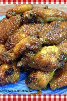 My brown sugar and honey mustard wings are sweet, tangy and delicious. They are perfect to whip up for your game day celebration or anytime you want wings. The sauce is super simple using any kind of mustard you want some honey, brown sugar and a few Sweet Chicken Wings Recipe, Baked Chicken Wings, Chicken Drummettes Recipes, Honey Brown, Brown Sugar, Honey Mustard Chicken Wings, Best Chicken Recipes, Lamb Recipes, Game Day Food