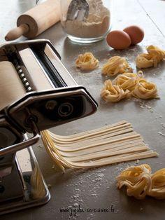 Comment faire des pâtes fraiches maison ?