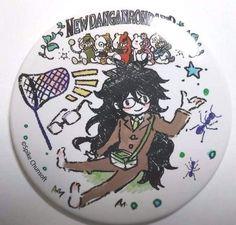 Danganronpa V3 Can Badge Graff Art Gonta Gokuhara Academy Gifted Prisoner F/S