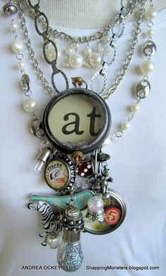Simon Says Stamp Monday Challenge, Beautiful Jewelry, Charms, Simon Says Stamp,