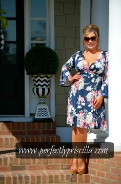#dress #floral #lookoftheday #wrapdress #love #fashion #trendy #fashion #curvy