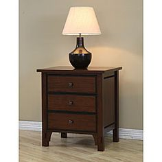 Talisman 3-drawer Bedside Table