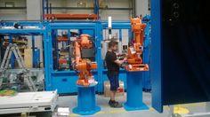 Budowa linii robotów, budowa szaf sterowniczych www.raf-tec.de