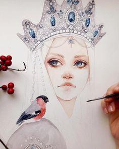 Artist / @oxanaviktorova.