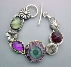 Natural Stalactite and Amethyst by Temi on Etsy, $270.00