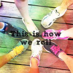 My workout buddies motivate me!