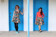Junebugs and Georgia Peaches: The Adventures of Modern June Cleaver + Amelia Jetson: Best Frocks Forever