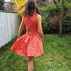 Victor House Emma Dress / Sew A DIY Dress / Sewing The post Victor House Emma Dress / Sew A DIY Dress / Sewing appeared first on All Photos Hande Akılsepeti. Diy Clothing, Sewing Clothes, Sewing Dress, Sewing Patterns Free, Free Sewing, Sewing Tips, Sewing Tutorials, Marie Claire, Robe Diy