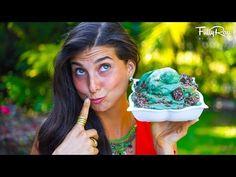 Green Grinch Peppermint Raw Vegan Nice Cream! - YouTube