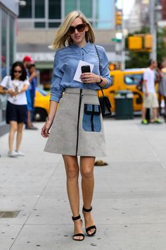 NYFW Street Style Day 4: Jane Keltner de Valle put her ladylike style on display.