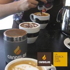 Nuestros baristas, maestros del latte art.