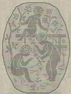 Gallery.ru / Фото #196 - Crochet Filet pour Point de Croix 1 - Mongia