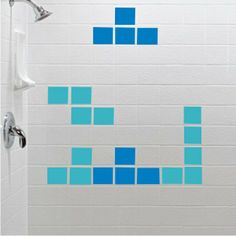 Tetris wall sticker