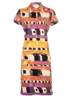 Ken Scott Vintage Patterned Dress