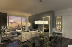 Marquise Condos Phase II | Condos à Chomedey Condos, Lofts, Condominium, Dining Table, Houses, Furniture, Home Decor, Projects, Attic