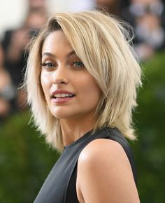 Paris Jackson Shag - Paris Jackson looked oh-so-hip with her shag at the 2017 Met Gala.