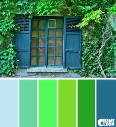 Charlie was talking about painting the house a fresh an colorful. He thinks the house is brown, I tell him it's yellow (I like it). Red Colour Palette, Paint Color Palettes, Colour Schemes, Color Combos, Chameleon Color, Design Seeds, World Of Color, Color Tile, Color Stories