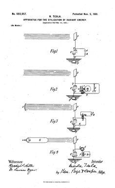 Tesla's Fuelless Generator - Nikola Tesla's Later Energy Generation  Designs