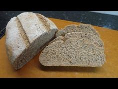 This is dense but immensely flavoursome loaf, made with both rye and wheat flour with caraway seeds as well. This loaf works so well and is ideal to eat with. Caraway Seeds, Rye Bread, Bread Board, Polish, Baking, Food, Vitreous Enamel, Bakken, Essen