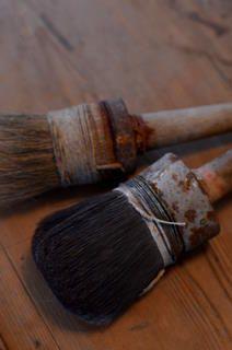 Old hake brushes, Belgium http://utsuwanote.exblog.jp/15009820/