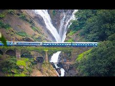 Waterfalls Doodhsagar , Incredible India