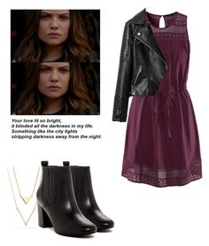Davina Claire - The Originals by shadyannon on Polyvore featuring polyvore fashion style H&M Chicnova Fashion Steve Madden clothing
