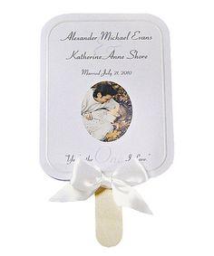 Another great find on #zulily! White Kraft Paper Fan Kit - Set of 48 #zulilyfinds