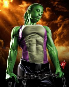 She-Hulk - Pete Tapang...If I was totally in shape this would be fun