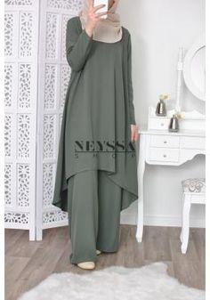 Modest Fashion Hijab, Modern Hijab Fashion, Muslim Women Fashion, Islamic Fashion, Abaya Fashion, Fashion Dresses, Mode Abaya, Mode Hijab, Pakistani Fashion Party Wear
