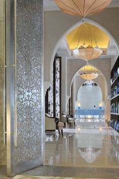Moroccan inspired interiors in Dubai. #Architecture #Fashionista #MoroccanDecor…