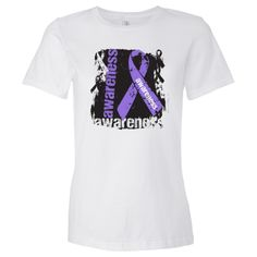 Hodgkin's Lymphoma Awareness Women's Fashion T-Shirts http://store.lymphomashirts.com/Shop/Awareness.15584/