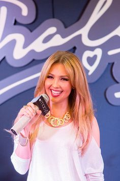 Thalia Makes Public Appearance at Macy's On State Street To Showcase Her Fall Collection