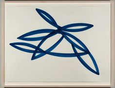Agnes Barley, Untitled Collage (Monochromes Blue) 4 2013, acrylic on paper