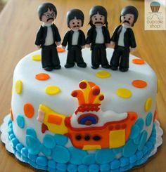Pastel de the Beatles