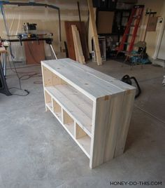 Diy tv stand, tv stand plans, how to build tv stand, diy entertainment Pallet Furniture Tv Stand, Pallet Tv Stands, Tv Furniture, Building Furniture, Diy Furniture Projects, Diy Wood Projects, Rustic Furniture, Furniture Stores, Cheap Furniture