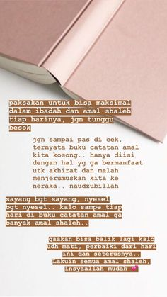 54 Ideas For Quotes Inspirational For Teens Indonesia Reminder Quotes, Self Reminder, Mood Quotes, Allah Quotes, Muslim Quotes, Islamic Quotes, Quran Quotes Inspirational, Faith Quotes, Life Quotes