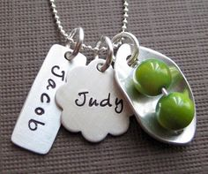 Love this personalized necklace for mommy's!