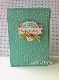 Stampin' Up! Birthday by The Speckled Sparrow: Sale-A-Bration 2014 Card Box & Card Set